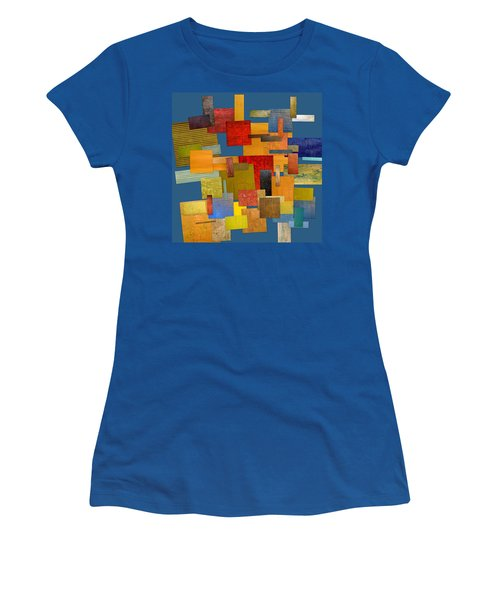 Scrambled Eggs Lv Women's T-Shirt (Athletic Fit)