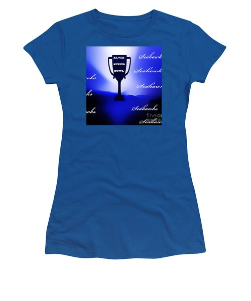 Seahawks Super Bowl Champions Women's T-Shirt (Athletic Fit)