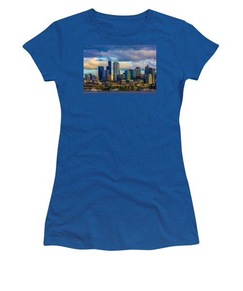 Seattle Cityscape Women's T-Shirt