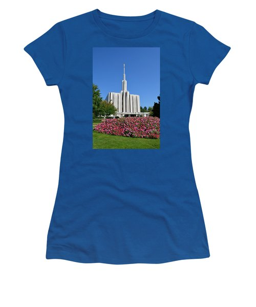 Seattle Temple Women's T-Shirt (Athletic Fit)