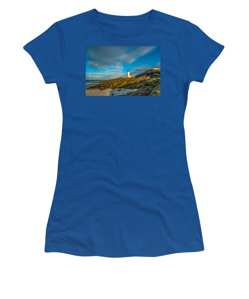 Seaweed Swagger And Time Traveling Clouds  At Annisquam Harbor L Women's T-Shirt
