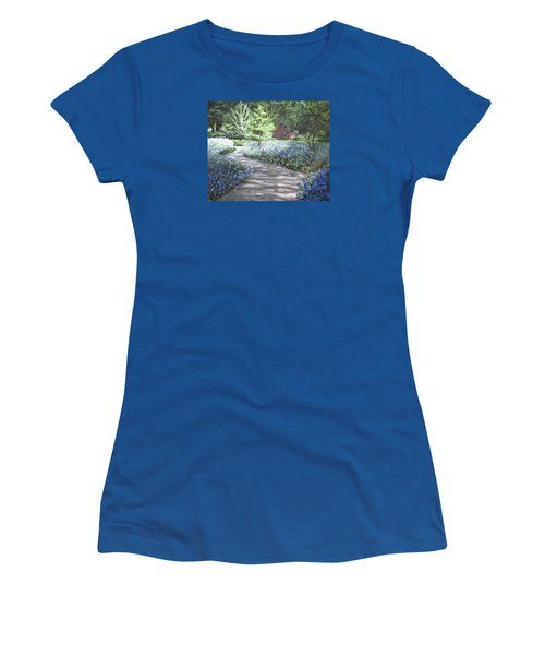 Shades Of Blue Women's T-Shirt