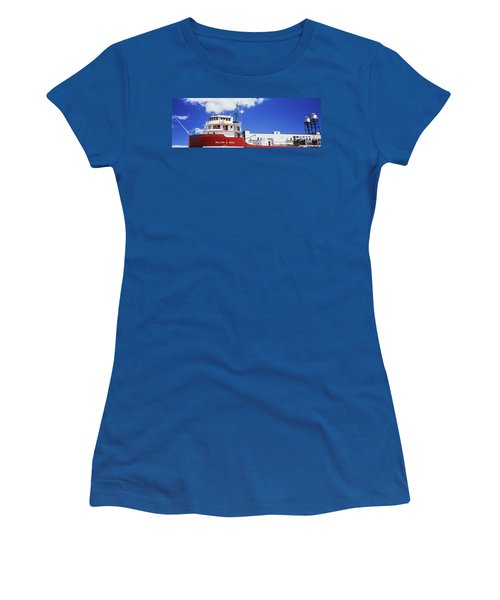 Ship Museum At A Harbor, William A Women's T-Shirt