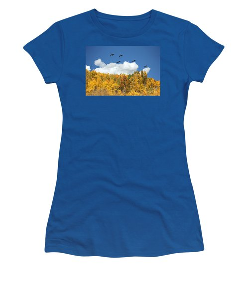 Signs Of The Season Women's T-Shirt (Junior Cut) by Bob Hislop