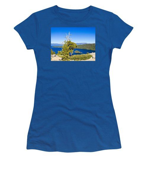 Sky Blue Water - Emerald Bay - Lake Tahoe Women's T-Shirt