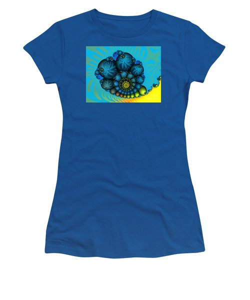 Snail Mail-fractal Art Women's T-Shirt