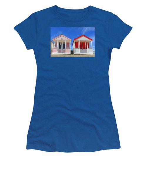 Southwold Beach Huts Women's T-Shirt