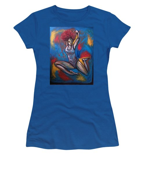 Spirit Women's T-Shirt (Junior Cut) by Jenny Pickens