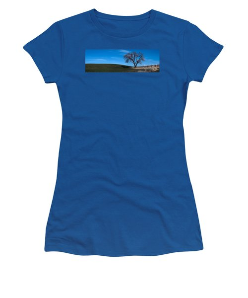 Springtime In The Palouse Women's T-Shirt (Athletic Fit)