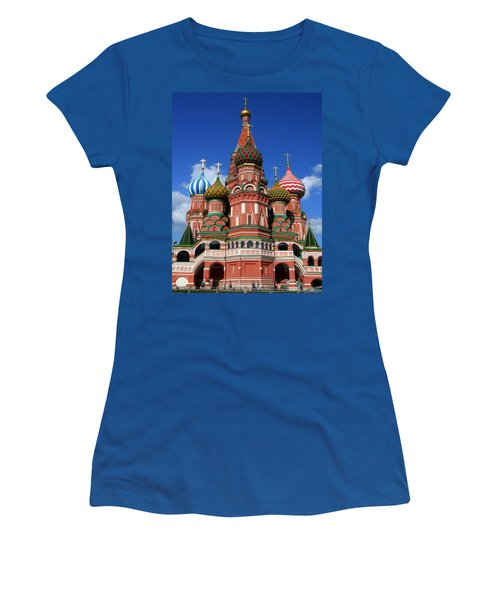 St. Basil's Cathedral Women's T-Shirt (Athletic Fit)