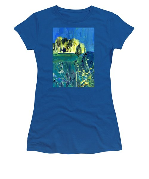 Stand Of Trees In Distance Women's T-Shirt