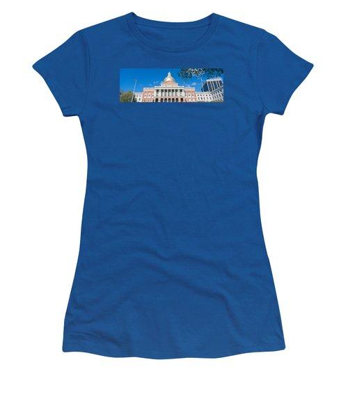 State Capitol, Boston, Massacushetts Women's T-Shirt