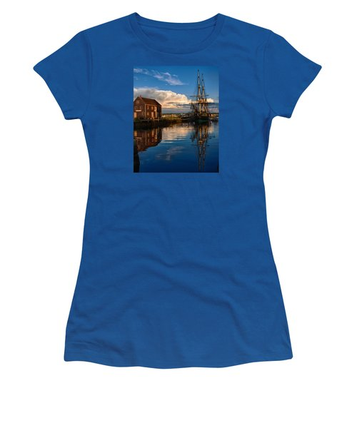 Storm Clearing Friendship Women's T-Shirt (Junior Cut) by Jeff Folger