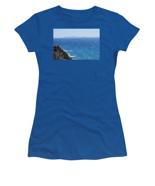 Women's T-Shirt (Junior Cut) featuring the photograph Strong Mistral by George Katechis