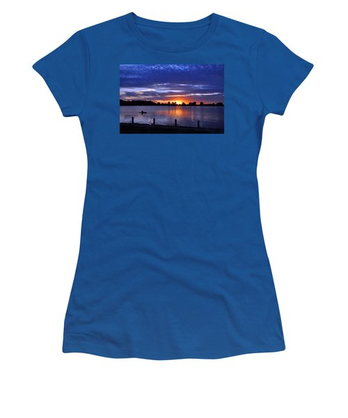 Sunset At Creve Coeur Park Women's T-Shirt