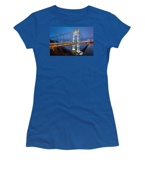 Super Bowl Gwb Women's T-Shirt (Junior Cut) by Mihai Andritoiu
