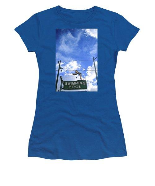 Swim Here Women's T-Shirt