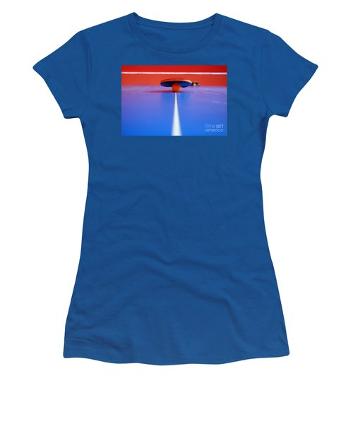 Table Tennis Women's T-Shirt (Athletic Fit)