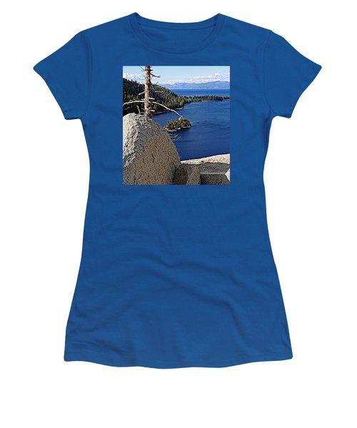 Tahoe Blue Women's T-Shirt (Athletic Fit)