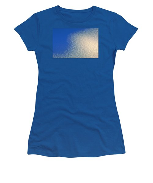 Women's T-Shirt (Junior Cut) featuring the photograph Tao Of Snow by Mark Greenberg