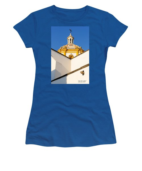 Templo De La Merced Guadalajara Mexico Women's T-Shirt (Junior Cut) by David Perry Lawrence