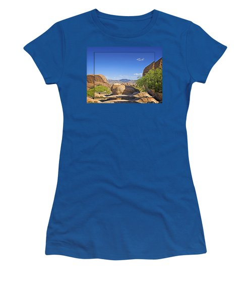 Texas Canyon 2 Women's T-Shirt (Athletic Fit)