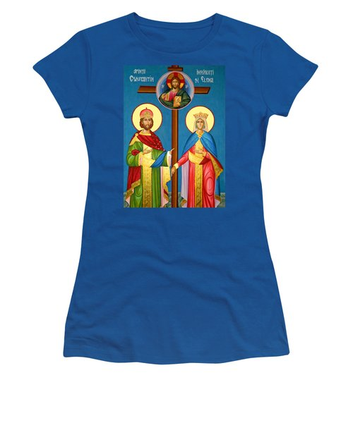The Cross Icon Women's T-Shirt (Athletic Fit)