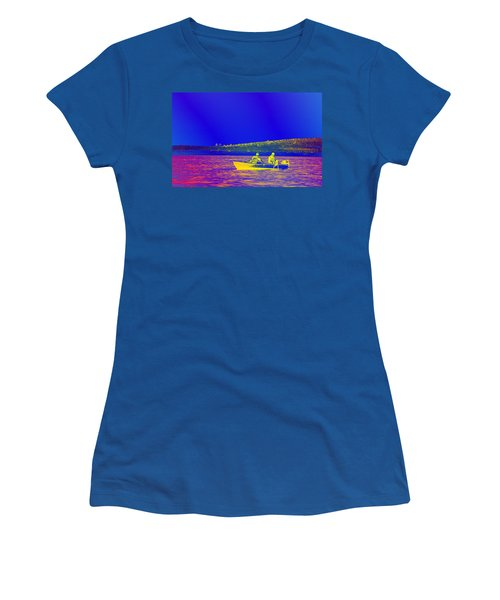 Women's T-Shirt (Junior Cut) featuring the photograph The Lazy Sunday Afternoon by David Pantuso