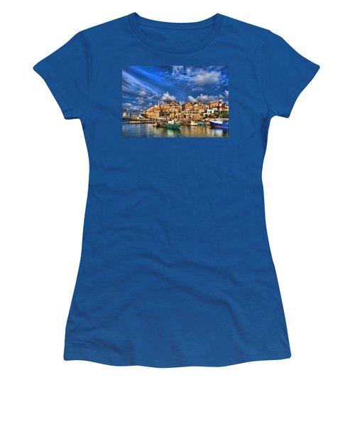 the old Jaffa port Women's T-Shirt
