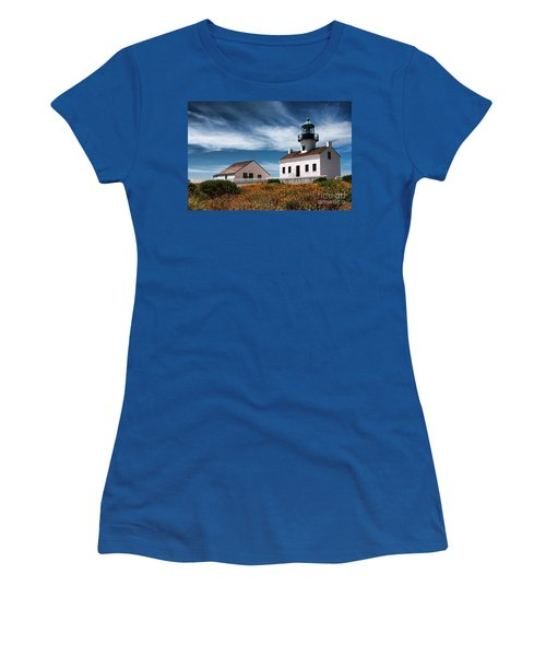 The Old Point Loma Lighthouse By Diana Sainz Women's T-Shirt