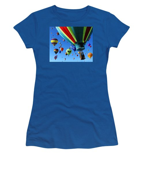 The Sky Is Full Women's T-Shirt (Junior Cut) by Vivian Christopher