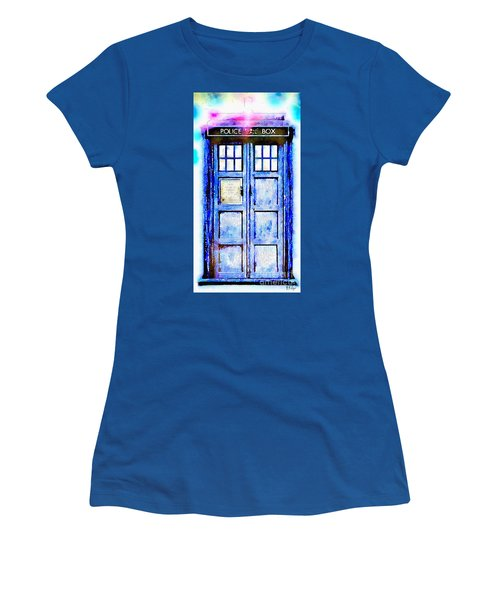 The Tardis Women's T-Shirt