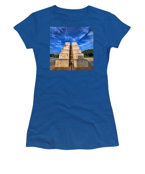 Women's T-Shirt (Junior Cut) featuring the photograph The White City by Ron Shoshani