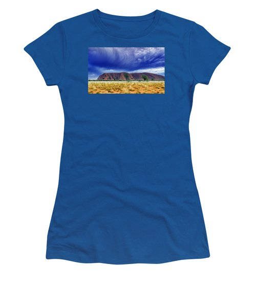 Thunder Rock Women's T-Shirt (Junior Cut) by Holly Kempe