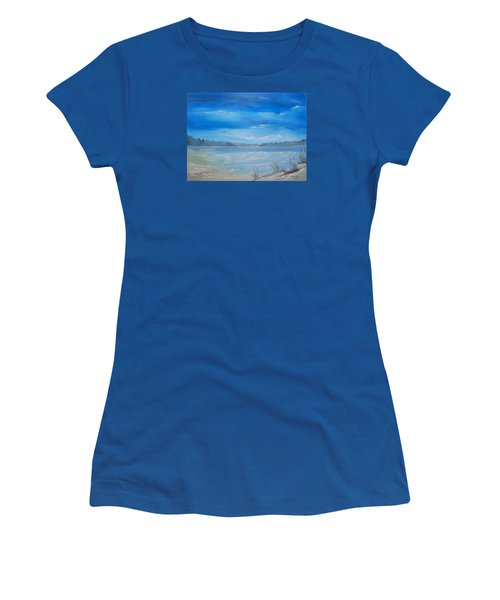 Tides In Women's T-Shirt (Athletic Fit)