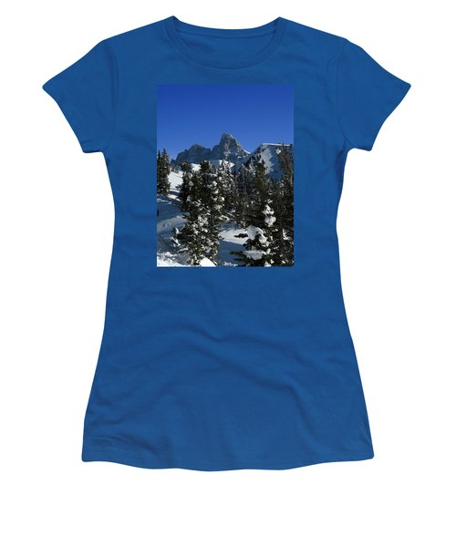 Women's T-Shirt (Junior Cut) featuring the photograph Towering Above Lies The Grand by Raymond Salani III