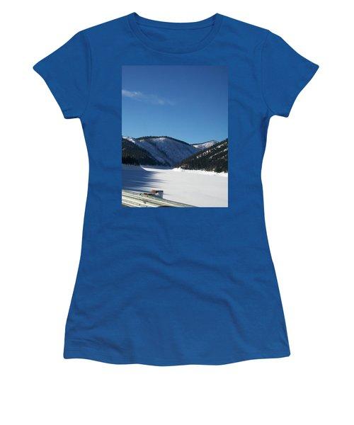 Tree Shadows Women's T-Shirt (Junior Cut) by Jewel Hengen