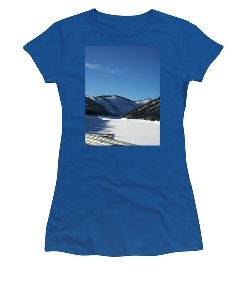 Tree Shadows Women's T-Shirt (Athletic Fit)