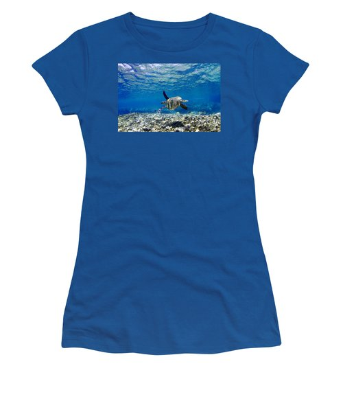 Turtle Cruise Women's T-Shirt (Athletic Fit)