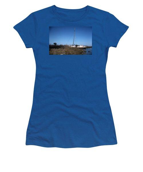 Up A Ditch Women's T-Shirt