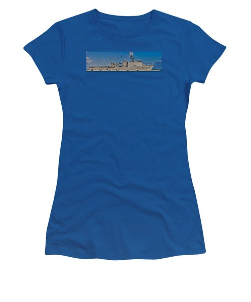Uss Fort Mchenry Women's T-Shirt (Athletic Fit)