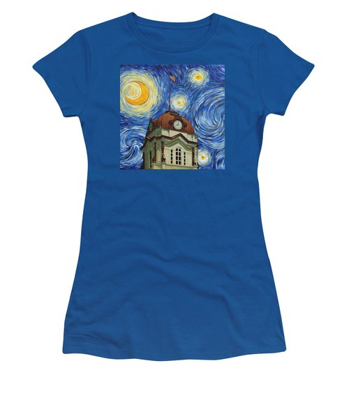 Van Gogh Courthouse Women's T-Shirt