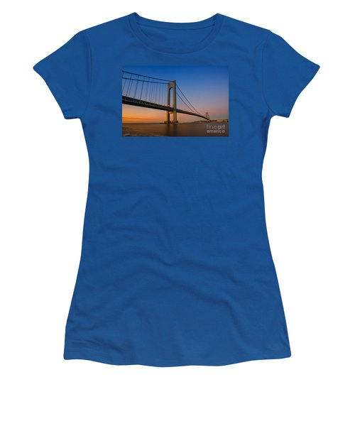 Verrazano Bridge Sunrise  Women's T-Shirt (Athletic Fit)