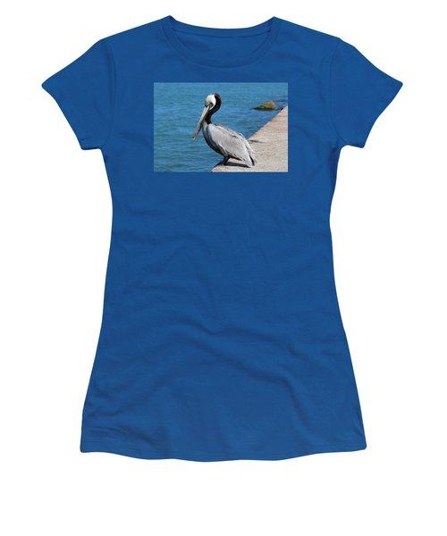 Waiting For A Fish  Women's T-Shirt
