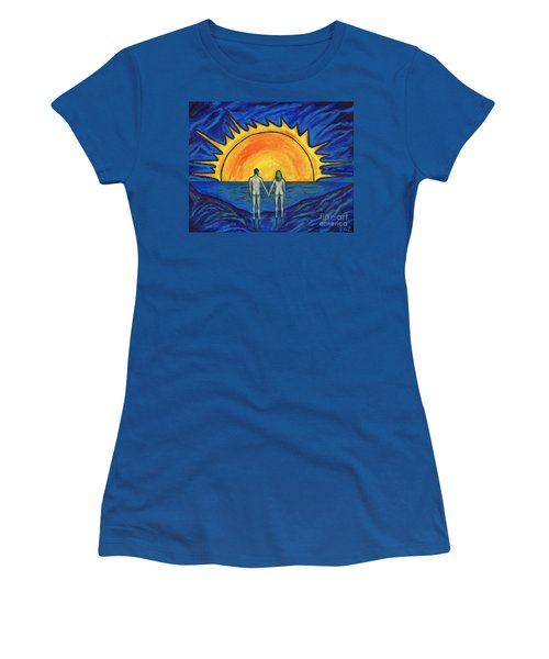Waiting For The Sun Women's T-Shirt (Athletic Fit)