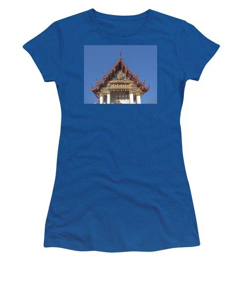 Wat Amarintaram Ubosot Gable Dthb1509 Women's T-Shirt