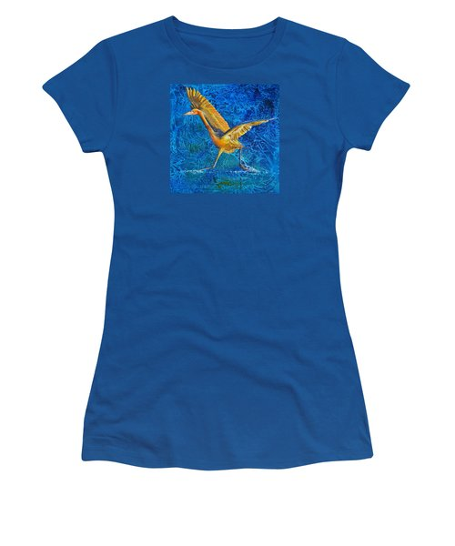 Water Run Women's T-Shirt (Athletic Fit)