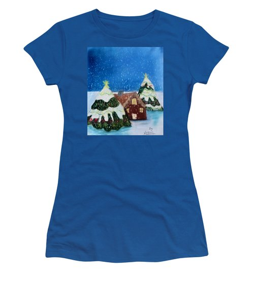 Christmasland Women's T-Shirt (Athletic Fit)