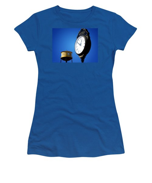 Women's T-Shirt (Junior Cut) featuring the photograph Winthrop Time by Greg Simmons