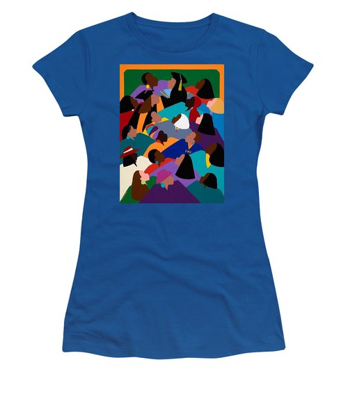 Women Lifting Their Voices Women's T-Shirt (Athletic Fit)